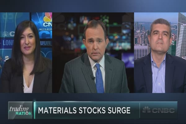 Can the major materials rally continue?
