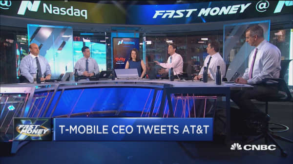 T-Mobile CEO says AT&T earnings are 'a mixed bag of bad'
