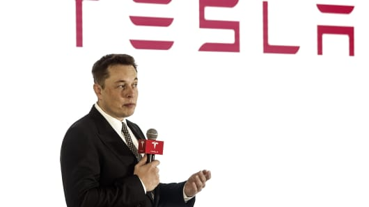 Elon Musk, chairman, CEO and product architect of Tesla Motors