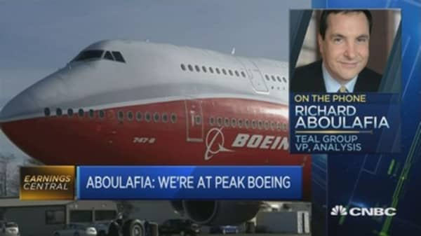 Trade, Trump are potential risks for Boeing