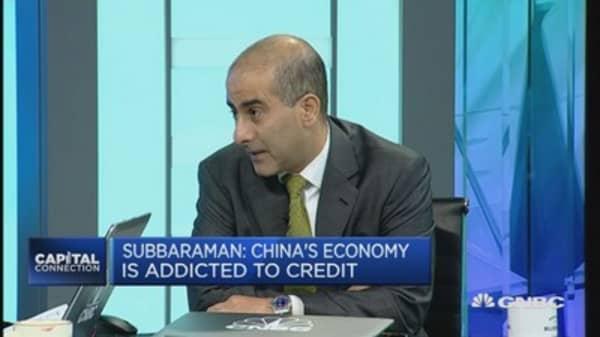 Chinese economy is addicted to credit: Economist