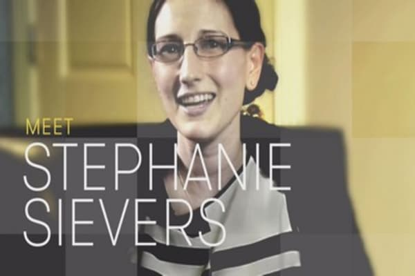 Meet Stephanie Sievers