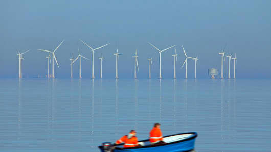 Europe's Offshore Wind Power Grew Twenty-Five Percent in 2017