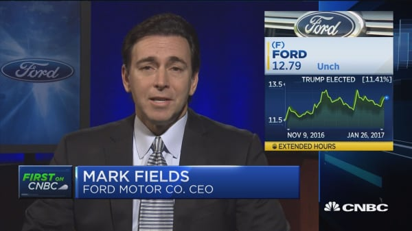 Ford CEO on Q4 earnings
