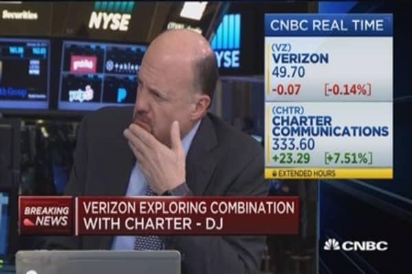 Verizon exploring combination with Charter -DJ