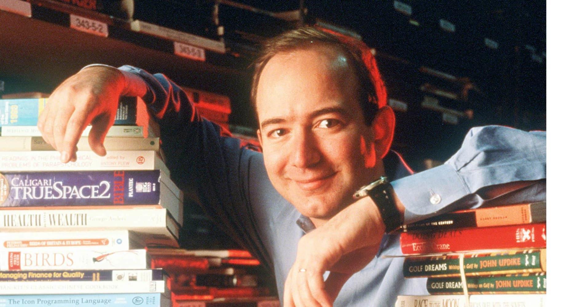 Jeff Bezos, founder and Ceo of Amazon