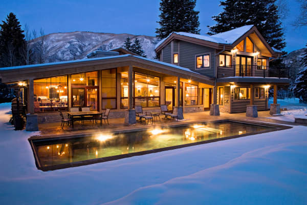 Luxury real estate in Aspen Colorado.