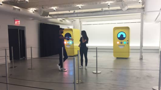 Snapchat store in New York.