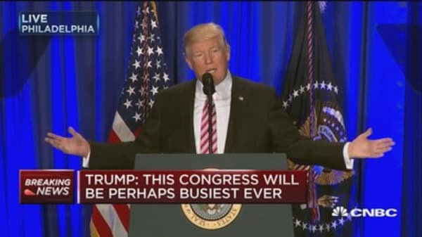 Trump: Keystone and Dakota pipelines will be built with American steel