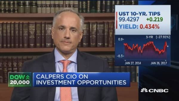 Calpers CIO: Very focused on changes emanating from Washington