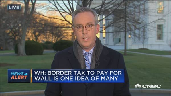 White House: Border tax to pay for wall is one idea of many
