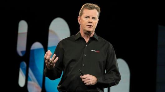 Frank Slootman, CEO of ServiceNow.