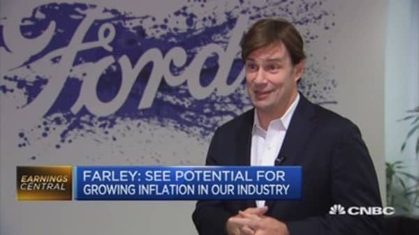 Currency biggest Brexit impact for us: Ford EMEA President