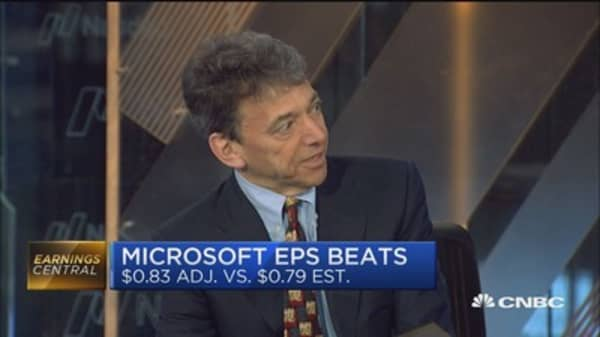 Microsoft beats Street as cloud service 'outperforms': Pro