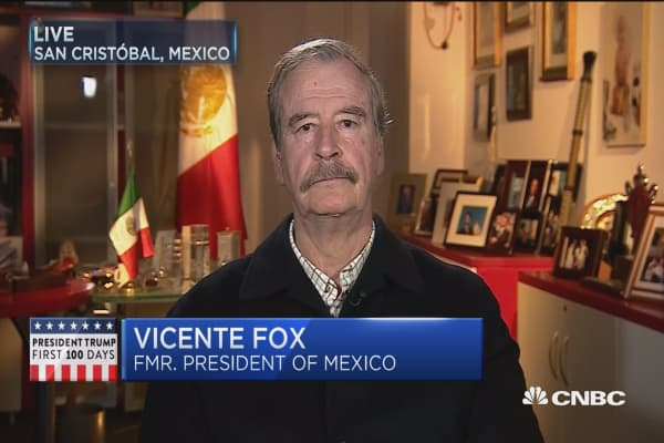 Mexico is not paying for that wall: Vincente Fox