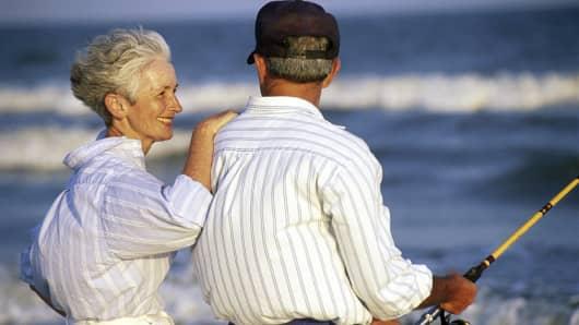 Senior couple retirement
