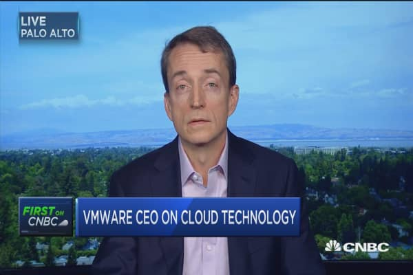 VMware CEO: Our strategy is focused on the hybrid cloud