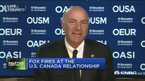 O'Leary says you don't want to mess with US-Canada relations