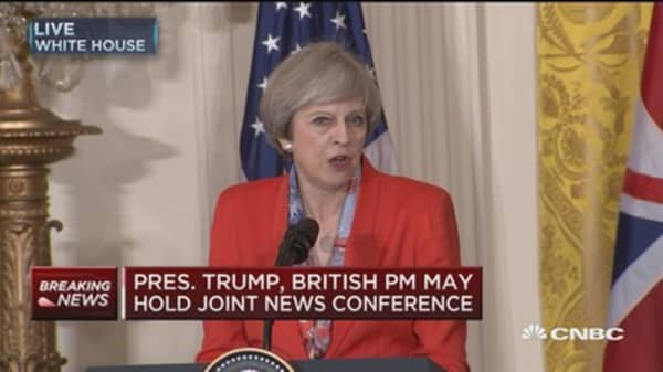May: Trade deal would be good for both countries