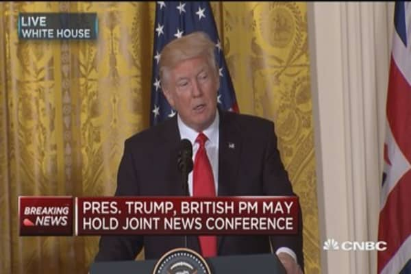 Trump: Want great relations with all countries