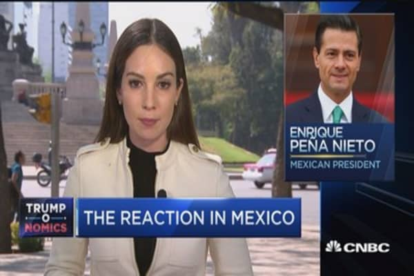 The Mexican reaction and backlash to Trump