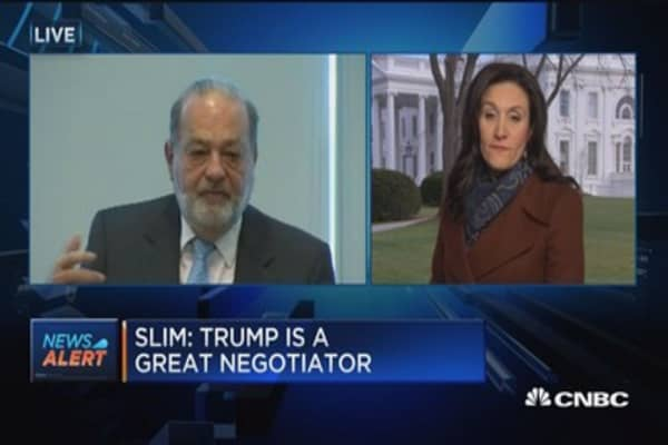 Slim: We should not be scared of Trump
