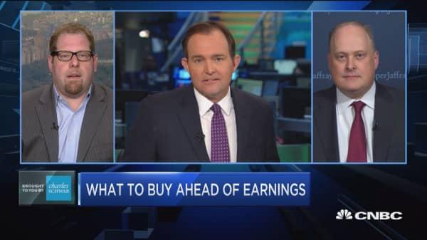 Trading Nation: Pre-earnings picks