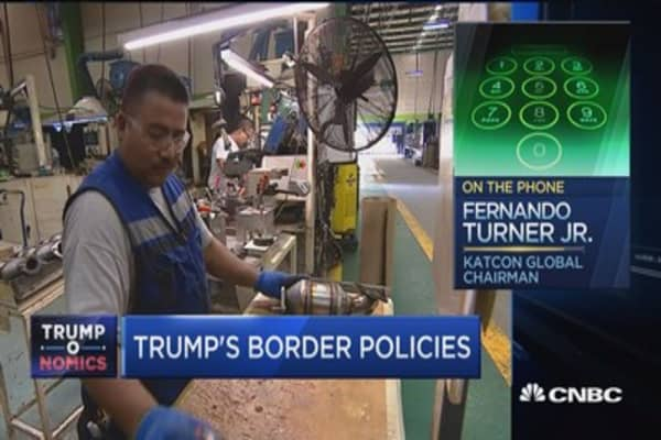 Katcon Global chair: A border tax on Mexico will hurt Trump voters