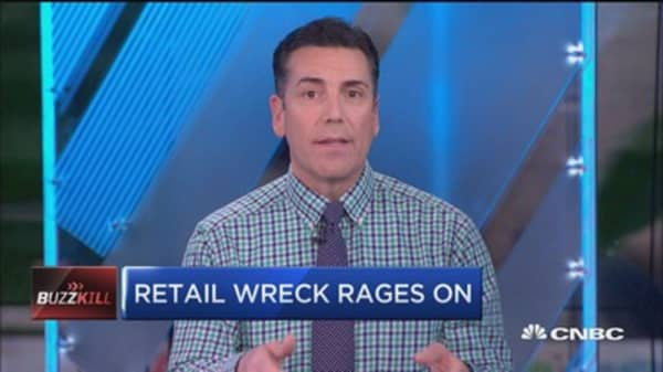 Retail wreck rages on: Buy the dip?