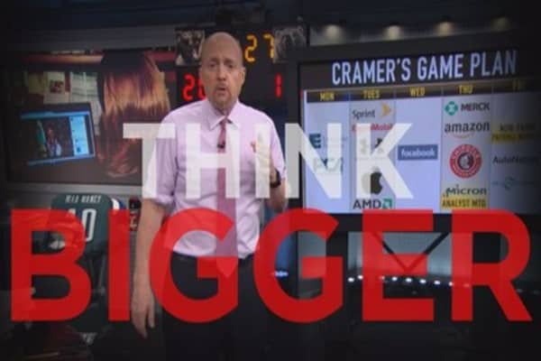 Cramer Remix: Two companies spending to dominate the world