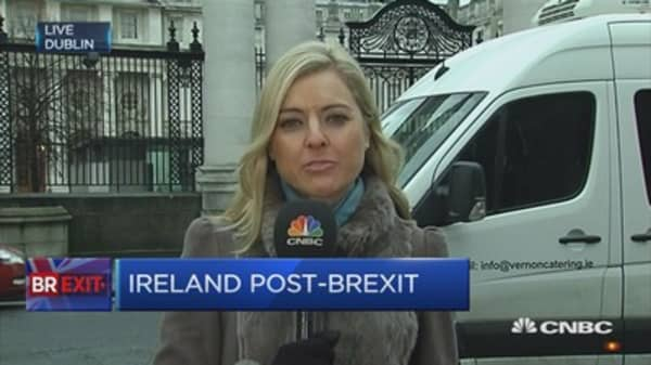Northern ireland border a huge point of concern for Kenny and May