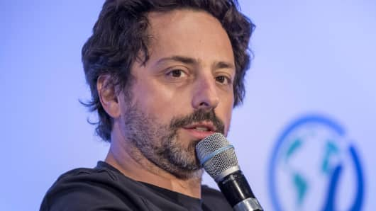 Sergey Brin, president of Alphabet and co-founder of Google