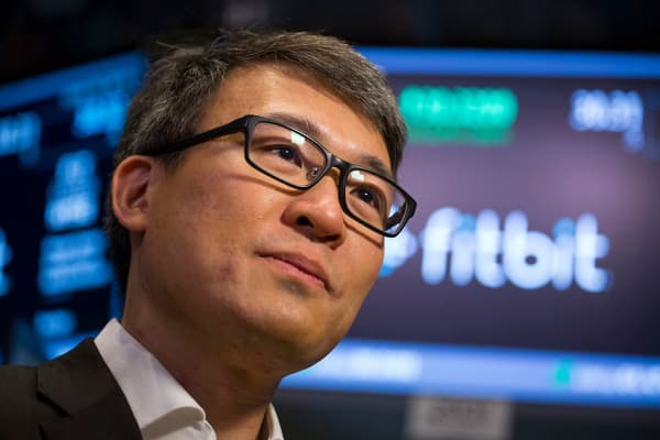 James Park, chief executive officer of Fitbit Inc.