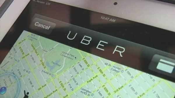 Uber faces heat for operating during taxi strike