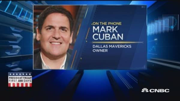 Mark Cuban: Amazon and Netflix are the best investments