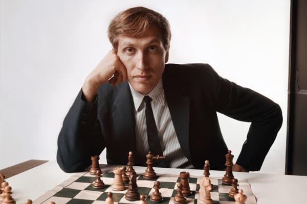 Chess master Bobby Fischer