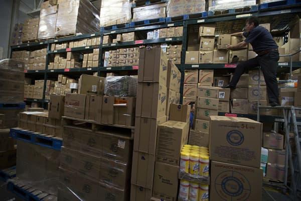 Wal-Mart warehouse