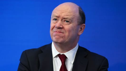 John Cryan, chief executive officer of Deutsche Bank AG