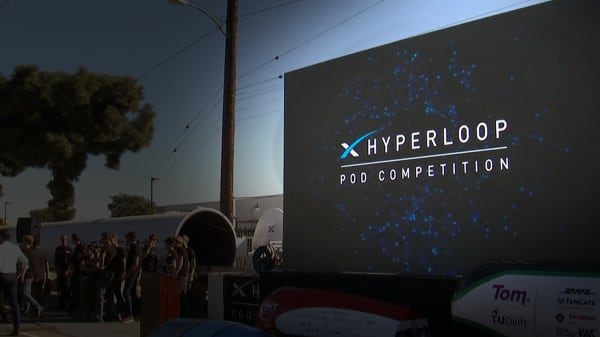 27 teams battled it out in the SpaceX Hyperloop Pod Competition