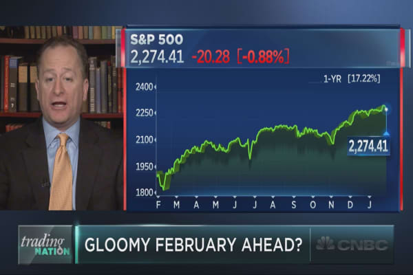 Why a gloomy February could be ahead for stocks