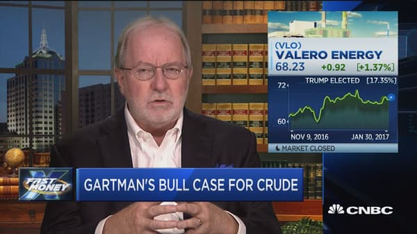 Gartman: Valero will be at advantage over other refiners