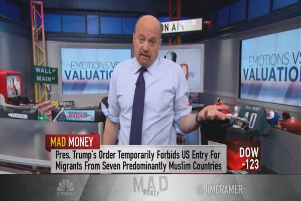 Cramer spots a new pattern to the Trump sell-off that you need to watch