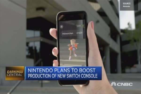 Nintendo's bet on mobile gaming really transforming into growth