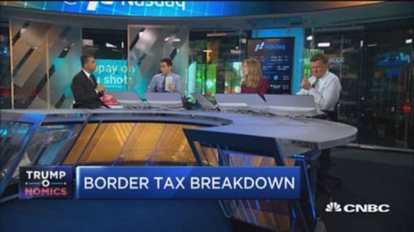 Border tax 'significant wrench' in tax reform: Expert