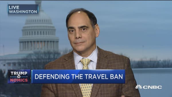 Trump ban attempt to get ahead of terror threat: James Carafano