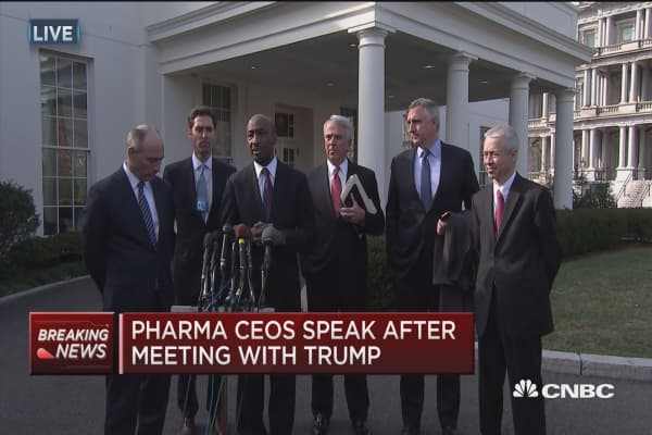 Merck CEO: We had a great conversation with Trump