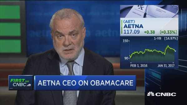 Aetna CEO: Selling insurance across state lines is outdated