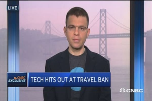 Levchin: Policy says the land of opportunity is closing its door