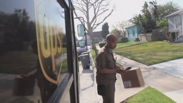 UPS delivers earnings miss