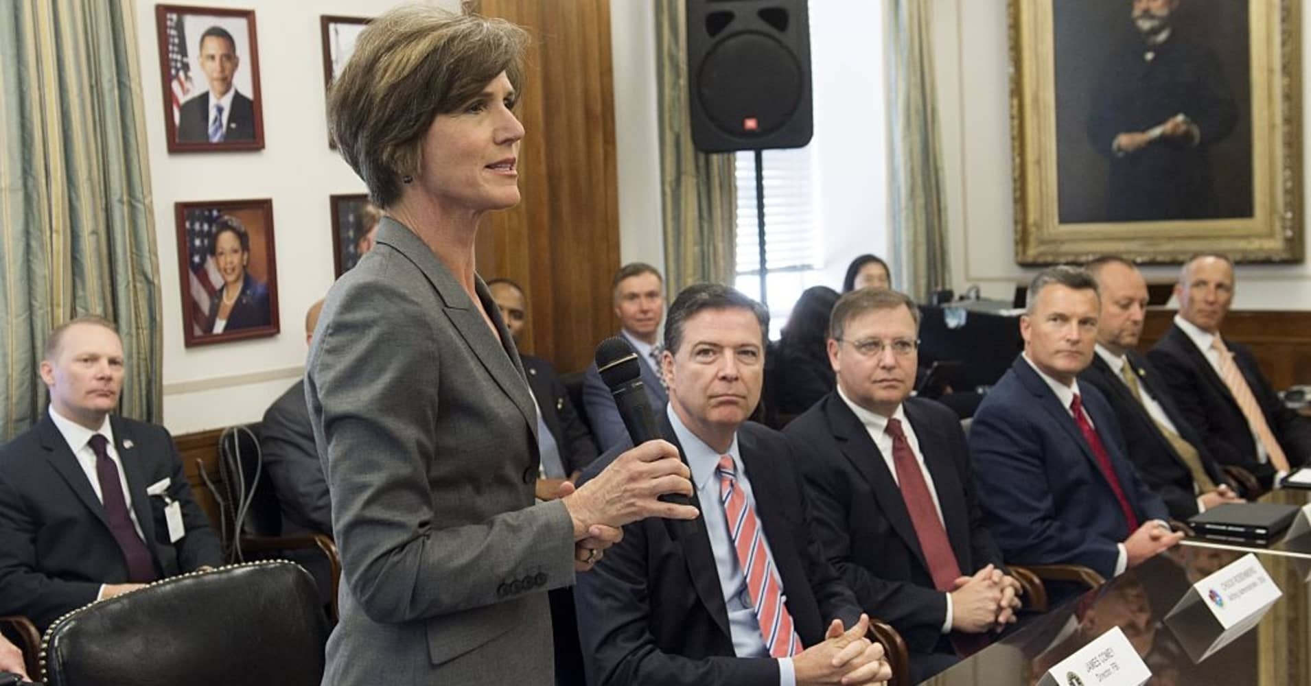 Former Deputy Attorney General Sally Yates.